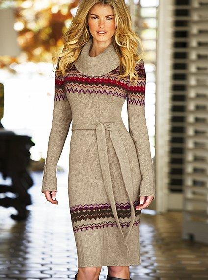 Выбираем вязаное платье!  Трикотажное. осенние платья непременно шьются...