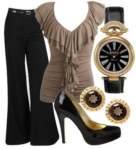 Также деловой стиль женщины обязательно предполагает наличие колготок.