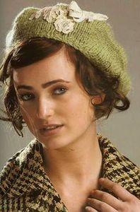 """На нашем женском сайте  """"Дамочка """" Вы в любое время можете отыскать новость - вязание берета и шапок, с фотографиями..."""