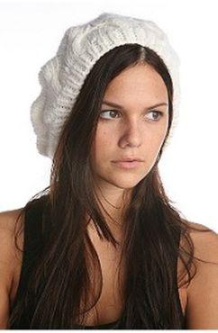 вязания крючком зимних беретов. связать шапку спицами женскую.