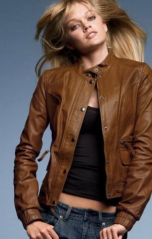 Описание: модные кожаные куртки весна 2012 женские.