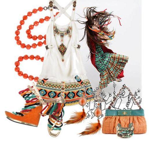 Этнический стиль в одежде - один из самых красочных и самобытных.  Своим явлением он... источник:Стройняшка.Ру...