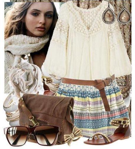 Этнический стиль отличает стремление к гармонии...