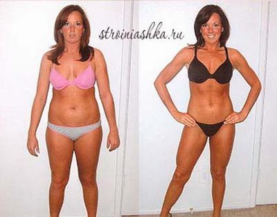 похудевших людей до и после истории